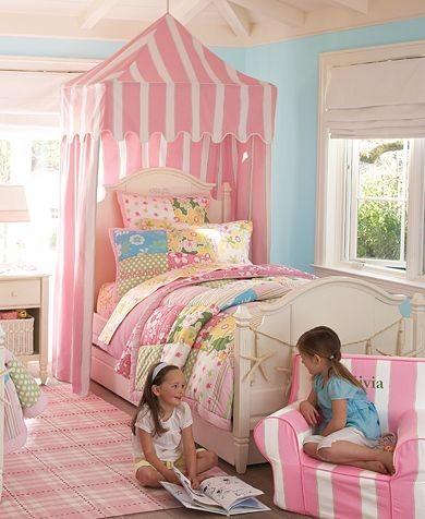 Girls Key West Bedroom  Pottery Barn Kids