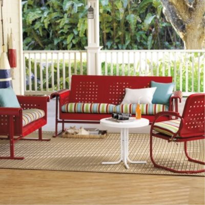 Retro Outdoor Furniture Collection  Traditional  Patio Furniture And Outdoor Furniture  by
