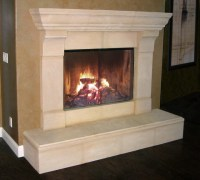 Cast Stone Fireplace Mantels - Contemporary - chicago - by ...