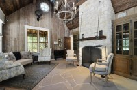 Hill Country Rustic Elegance - Rustic - Living Room ...