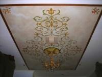 Murals, Stencil, Ceiling Designs