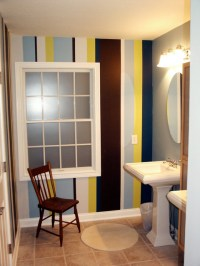 Decorative Window Film - Contemporary - Bathroom - other ...