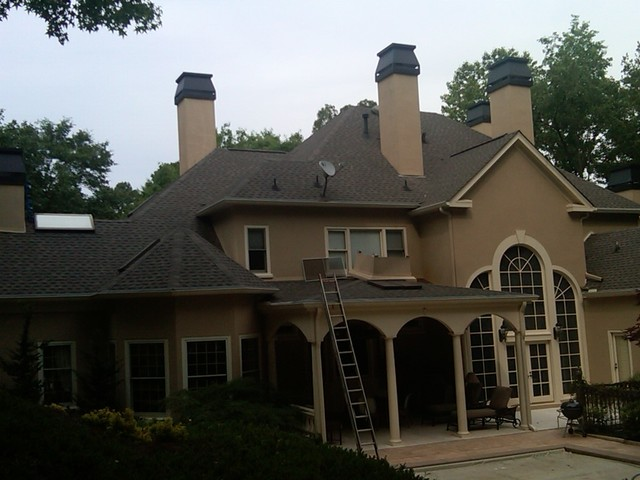 Decorative chimney shroud update in Country Club of the South  Traditional  atlanta  by