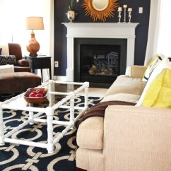 Living Room Color Schemes With Navy Blue Grey Sofa Decor Crush Addicted 2 Decorating