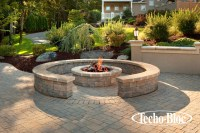 Outdoor Living - Valencia Fire Pit by Techo-Bloc ...