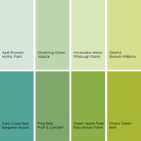So Many Shades of Green, Forrest . . .  LindaAvey.com