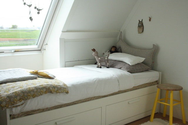 My Houzz Sophisticated Family Home Breathes Scandinavian Style  Contemporary  Kids