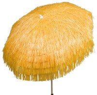 Palapa Tiki Umbrella 6 ft, Yellow, Patio - Tropical ...