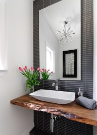 Powder Room - Contemporary - Powder Room - toronto - by ...