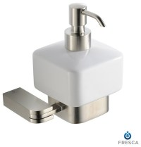 Fresca Solido Lotion Dispenser (Wall Mount) - Brushed ...