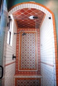 Mexican Tile - Mediterranean - Bathroom - austin - by Clay ...