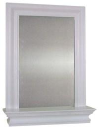 Kingston Wall Mirror with Shelf - Contemporary - Bathroom ...