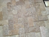 What Color Grout for a High V Travertine Floor?