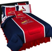 MLB St Louis Cardinals Bedding Set Baseball Bed, Twin ...