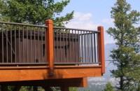 Century Aluminum Deck Railing - Modern - Outdoor Products ...