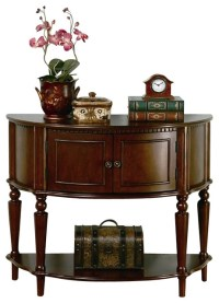 Coaster Storage Entryway Console Hall Table in Brown ...