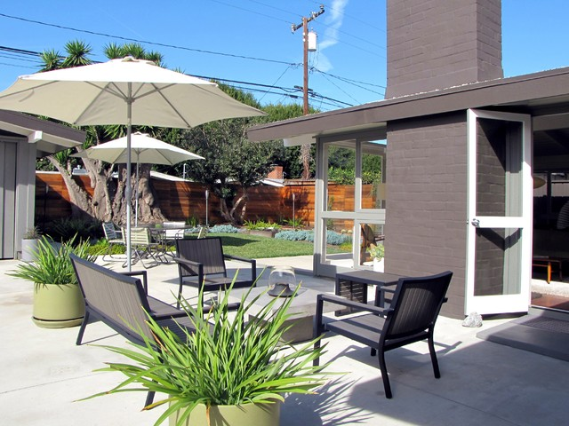 My Houzz A Midcentury Marvel Revived In Long Beach
