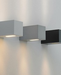 F Sign - qp90 square outdoor wall sconce - Modern - Wall ...