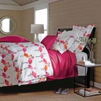 Flamingo Percale Comforter Cover - Tropical - Duvet Covers ...