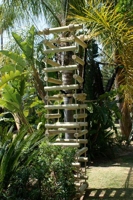 Palm tree 4sided Rope Ladder  Mediterranean  london