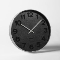 Mrs. Black Wall Clock - Modern - Wall Clocks - by West Elm