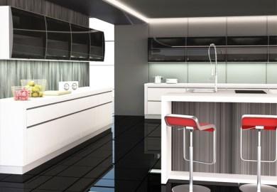 Kitchen Cabinet Design Aluminium