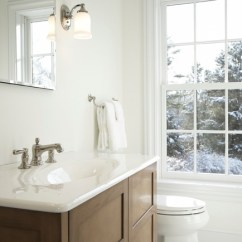 Hanging Lighting Fixtures For Kitchen Utility Table Clean White Powder Room - Traditional ...