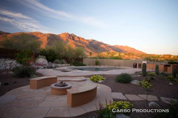 hardscapes & desert landscaping