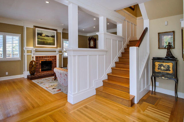 Chapin Road Traditional Staircase San Francisco By