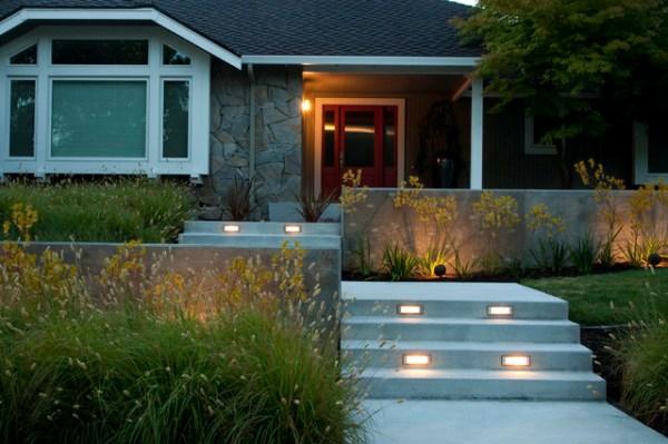 modern front yard design - home