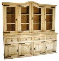 Rustic Pine Cupboard - Rustic - China Cabinets And Hutches ...