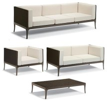 ibiza 4-pc. outdoor sofa set