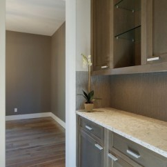 Kitchen Cabinets Lights Ceiling Grey Stained - Contemporary Calgary ...