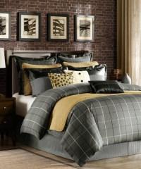 Gray & Gold Comforter Set modern-comforters-and-comforter-sets
