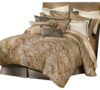 Piedmont Comforter Set, Queen - Transitional - Comforters ...