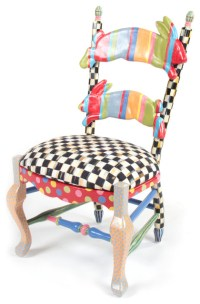 Rabbit Chair | MacKenzie-Childs - Eclectic - Kids Chairs ...