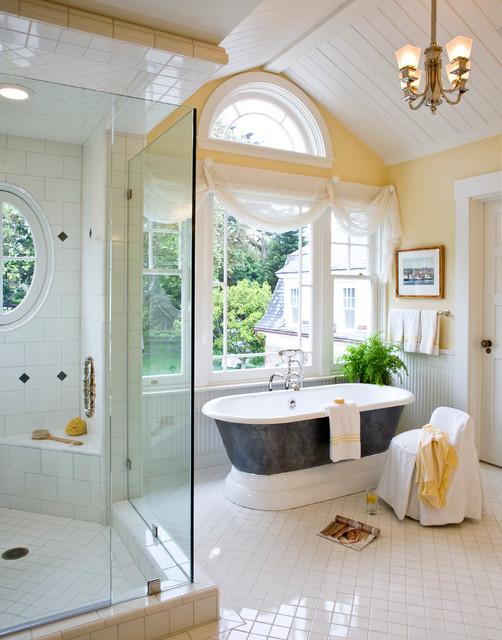 Santa Barbara Dutch Colonial  Beach Style  Bathroom  other metro  by Kathryne Designs Inc