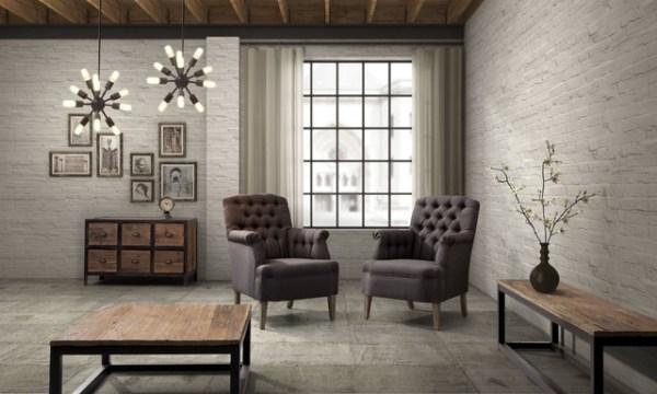 industrial design living room furniture Industrial Loft Furniture