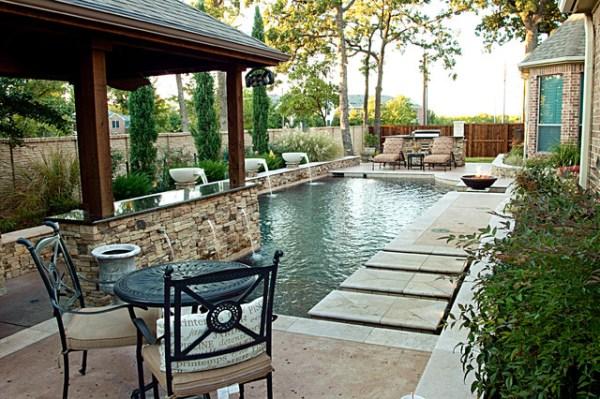 dry stack - custom swimming pool