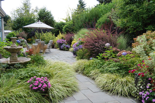 Garden Design New England incorporate your patio in your new england garden design