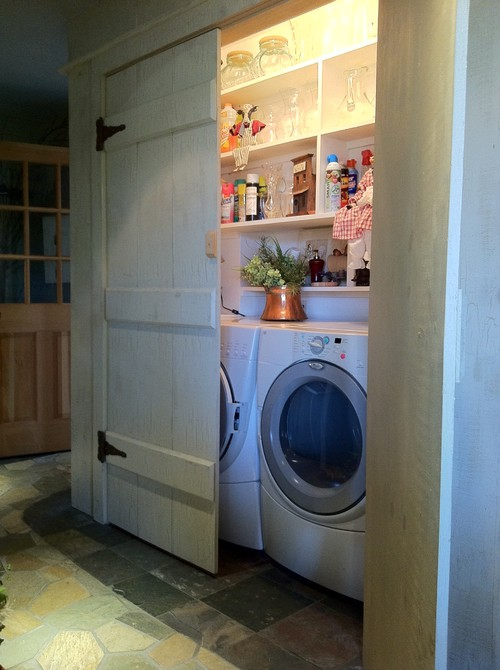 Remodelaholic 25 Ideas For Small Laundry Spaces