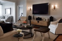 Bachelor Pad - Contemporary - Living Room - baltimore - by ...
