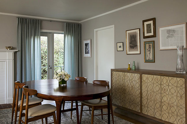 Dining Room Curtains  Eclectic  Curtains  san francisco