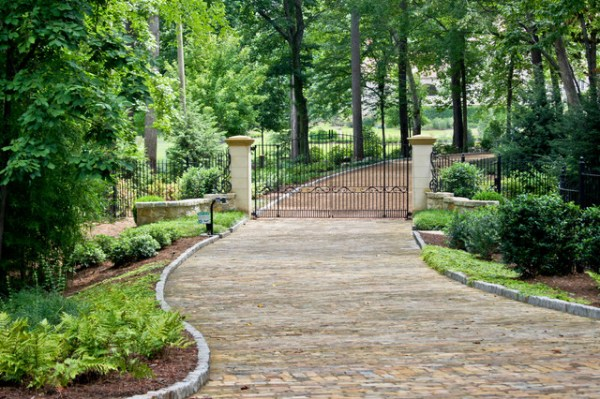 landscape and pool design - traditional