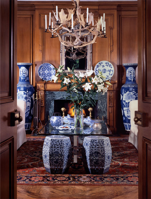 Susan Cohen, ASID traditional living room