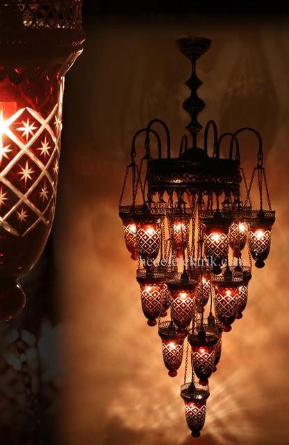 bronze kitchen chandelier norfolk and bath reviews turkish style - mosaic lighting eclectic chandeliers ...