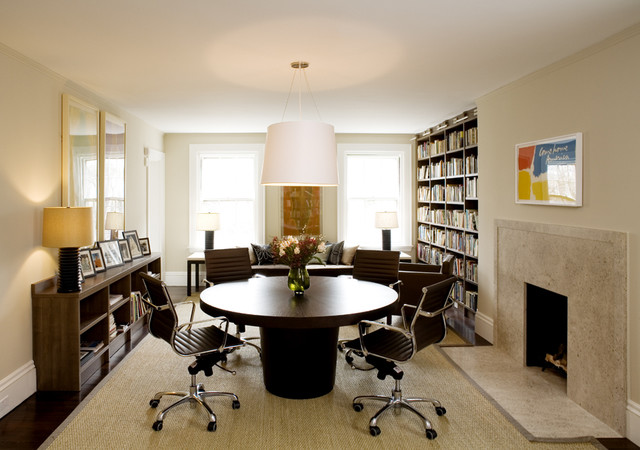 modern home office by LDa Architecture & Interiors