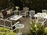 White Patio Set | Patio Design Ideas
