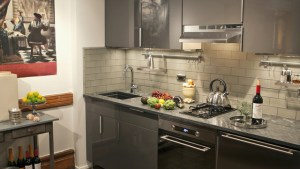 Harlem Townhouse Apartment Eclectic Kitchen New York
