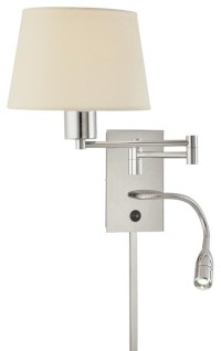 LED Reading Light and Swing Arm Wall Lamp